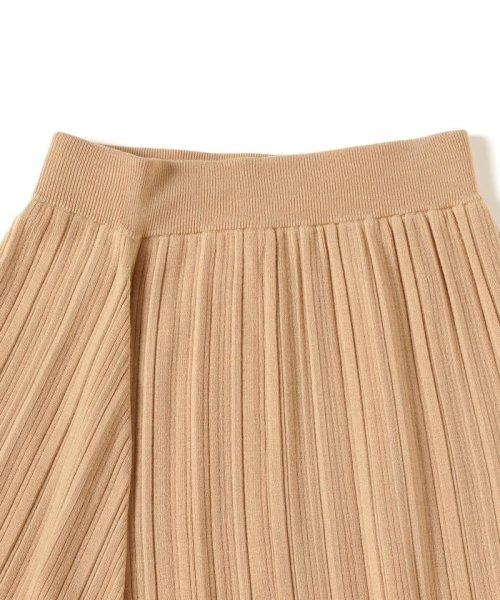 BEAMS OUTLET(ビームス アウトレット)/Demi-Luxe BEAMS / ランダムリブ アシンメトリーニットスカート/68270334126_img02