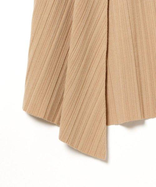 BEAMS OUTLET(ビームス アウトレット)/Demi-Luxe BEAMS / ランダムリブ アシンメトリーニットスカート/68270334126_img03
