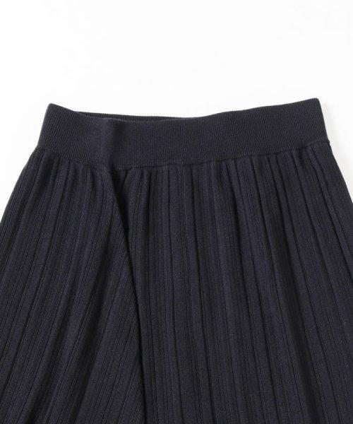 BEAMS OUTLET(ビームス アウトレット)/Demi-Luxe BEAMS / ランダムリブ アシンメトリーニットスカート/68270334126_img05