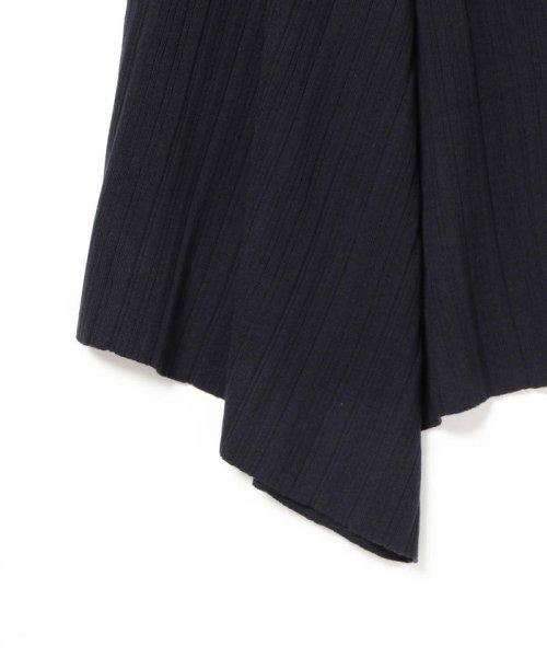 BEAMS OUTLET(ビームス アウトレット)/Demi-Luxe BEAMS / ランダムリブ アシンメトリーニットスカート/68270334126_img06