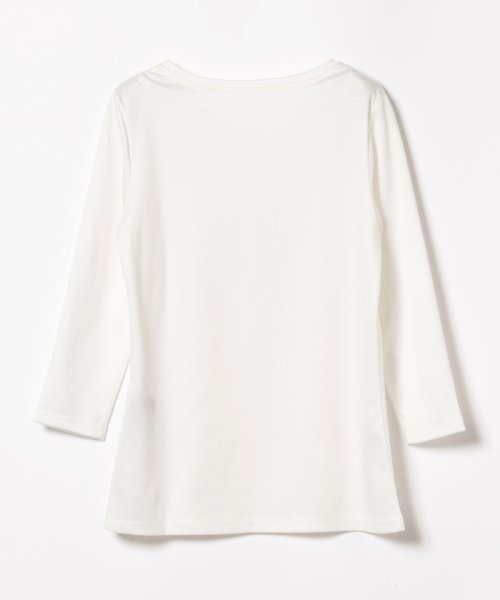 BEAMS OUTLET(ビームス アウトレット)/Demi-Luxe BEAMS / テンセル ベーシック 7分袖シャツ/68140012444_img01