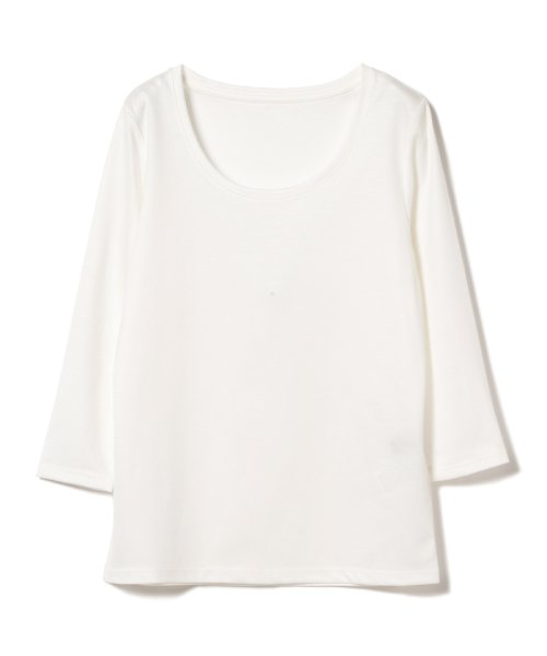 BEAMS OUTLET(ビームス アウトレット)/Demi-Luxe BEAMS / テンセル ベーシック 7分袖シャツ/68140012444_img04