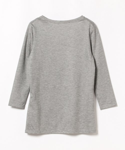 BEAMS OUTLET(ビームス アウトレット)/Demi-Luxe BEAMS / テンセル ベーシック 7分袖シャツ/68140012444_img05