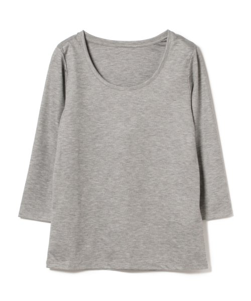 BEAMS OUTLET(ビームス アウトレット)/Demi-Luxe BEAMS / テンセル ベーシック 7分袖シャツ/68140012444_img08