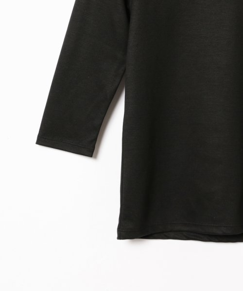 BEAMS OUTLET(ビームス アウトレット)/Demi-Luxe BEAMS / テンセル ベーシック 7分袖シャツ/68140012444_img11
