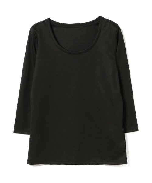 BEAMS OUTLET(ビームス アウトレット)/Demi-Luxe BEAMS / テンセル ベーシック 7分袖シャツ/68140012444_img12