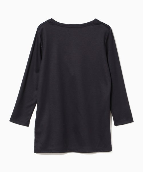 BEAMS OUTLET(ビームス アウトレット)/Demi-Luxe BEAMS / テンセル ベーシック 7分袖シャツ/68140012444_img13