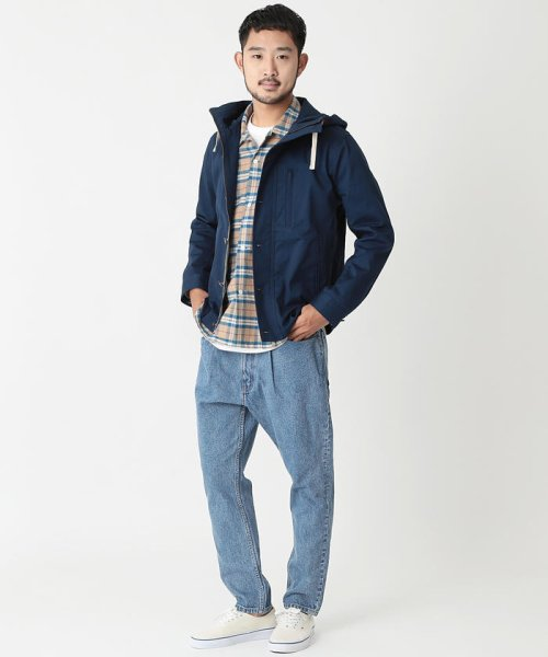 BEAMS OUTLET(ビームス アウトレット)/BEAMS / レイズドネック パラシュートパーカ/11183685277_img03