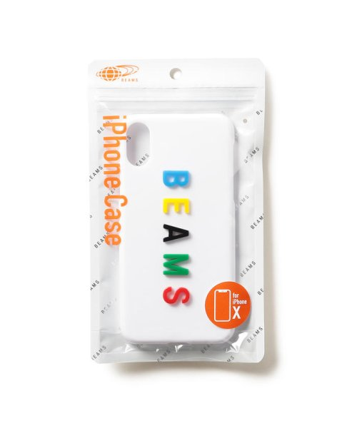 bPr BEAMS(bPrビームス(雑貨))/BEAMS / カラーロゴ iPhoneXケース/33750080218_img03