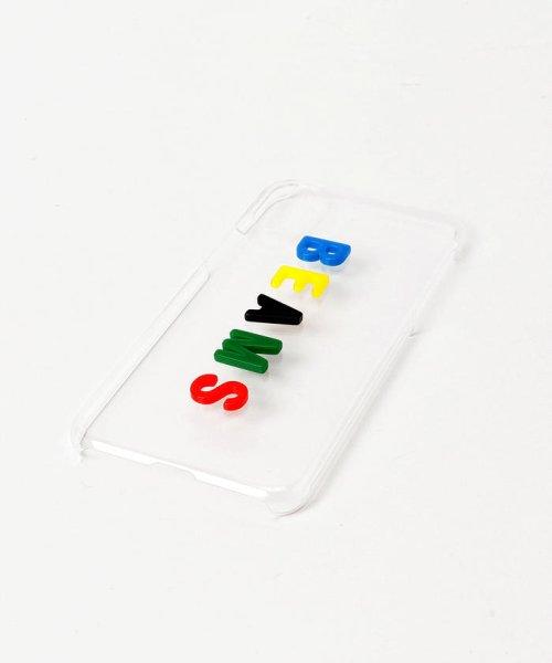 bPr BEAMS(bPrビームス(雑貨))/BEAMS / カラーロゴ iPhoneXケース/33750080218_img08