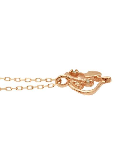 JEWELRY SELECTION(ジュエリーセレクション)/贅沢なオール18金ゴールド!K18ゴールド 天然ダイヤモンド ネックレス 選べる3カラー 【オープンハート/K18PG】/NSUZ12659001CTA40K18PG_img01