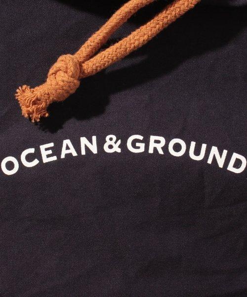 OCEAN&GROUND(オーシャンアンドグラウンド)/コットン巾着大 O&G/1815901_img04