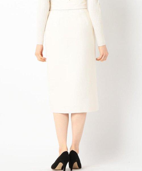 SHIPS WOMEN(シップス ウィメン)/Prefer SHIPS: ソリッドサイドボタンスカート/313200362_img03