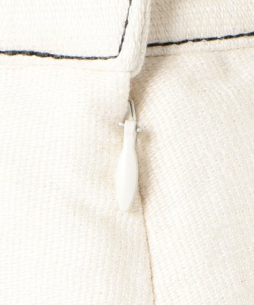 SHIPS WOMEN(シップス ウィメン)/Prefer SHIPS: ソリッドサイドボタンスカート/313200362_img08