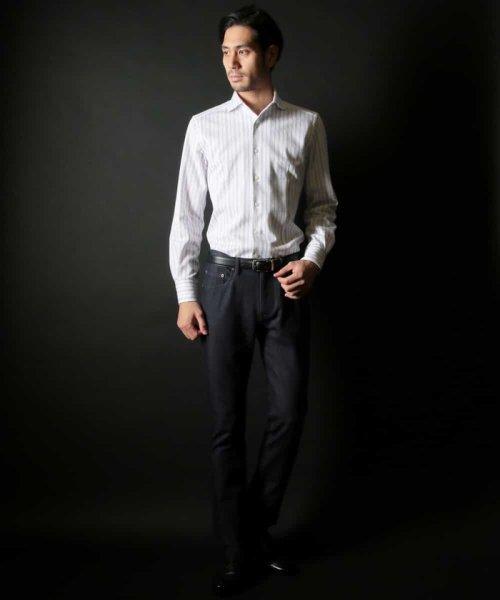 MICHEL KLEIN HOMME(ミッシェルクランオム)/ラッセルストライプシャツ/MNBDD63180_img20