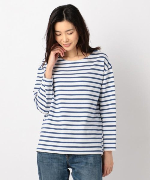 lssize限定 french terry border カットソー 500769156 23区