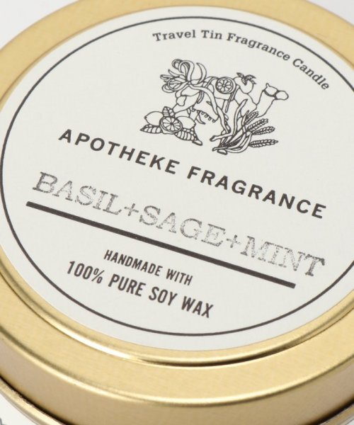 SAVE KHAKI(セイブカーキ)/APOTHEKE FRAGRANCE Tin Candle/17090612002210_img10