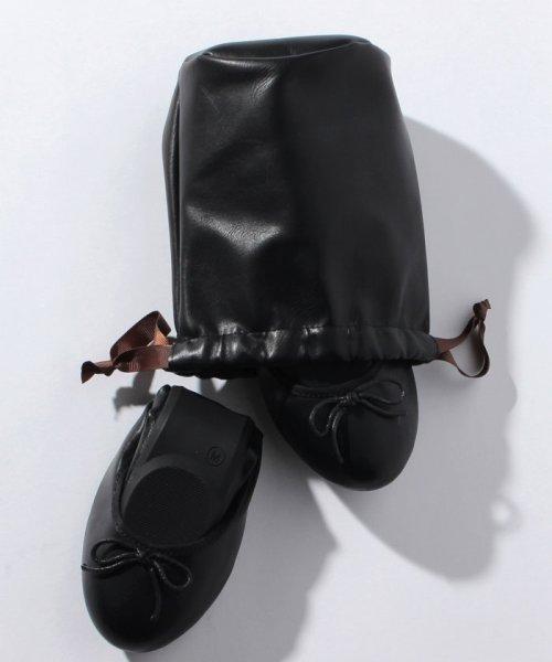 form forma(フォルムフォルマ)/シンプルリボン 折りたたみ携帯シューズ【22〜23.5cm】/5461621_img05