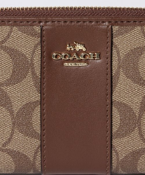 COACH(コーチ)/COACH OUTLET F54630 IME74 ラウンドファスナー長財布/F54630IME74_img04
