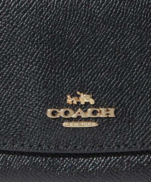 COACH(コーチ)/COACH OUTLET F54009 IMBLK 長財布/F54009IMBLK_img04