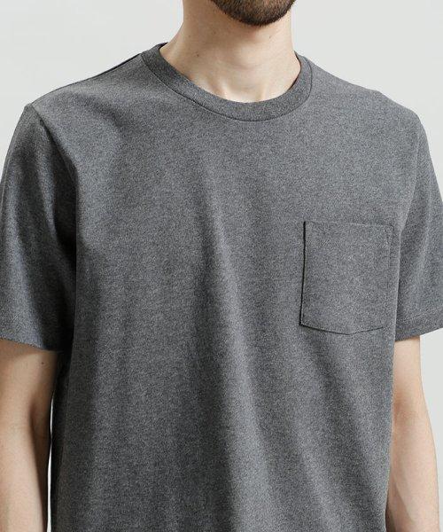 nano・universe(ナノ・ユニバース)/ポケット付きBig Tシャツ/6688123020_img02