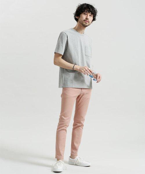 nano・universe(ナノ・ユニバース)/ポケット付きBig Tシャツ/6688123020_img06