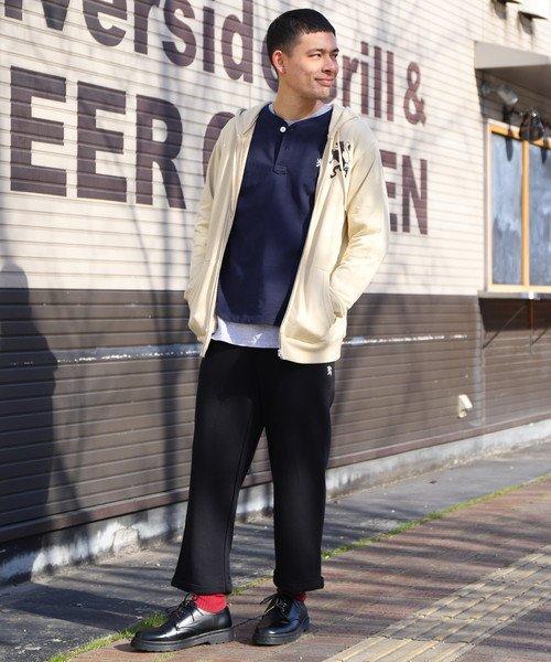 GIORDANOM(ジョルダーノ(メンズ))/【2018春夏商品】ライオン刺繍ZIPフードパーカ(お揃い可能)/GD18SP02M011_img05