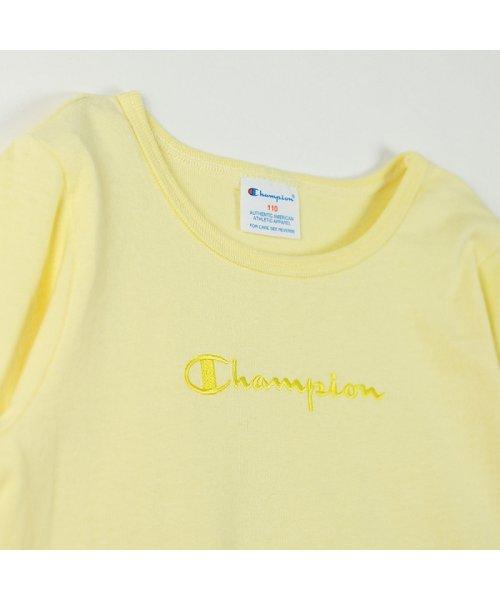 RADCHAP(ラッドチャップ)/championコラボチュール切替え長袖Tシャツ/428105041_img02