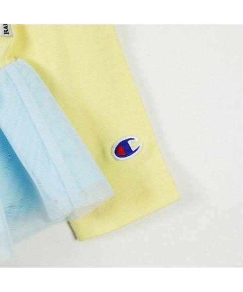 RADCHAP(ラッドチャップ)/championコラボチュール切替え長袖Tシャツ/428105041_img03