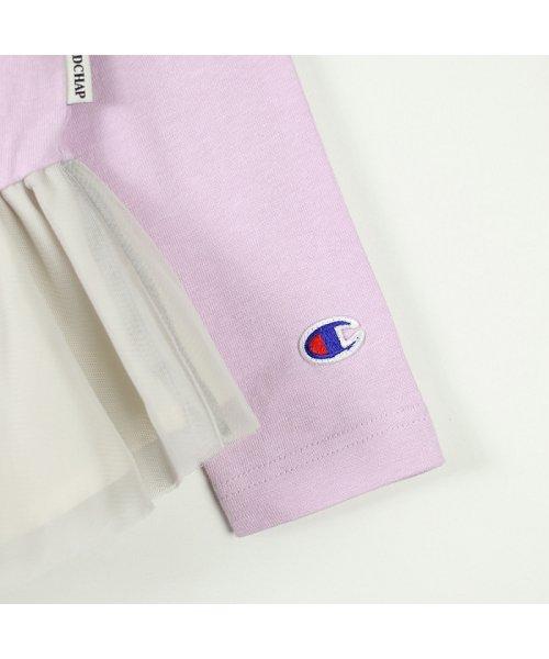 RADCHAP(ラッドチャップ)/championコラボチュール切替え長袖Tシャツ/428105041_img08