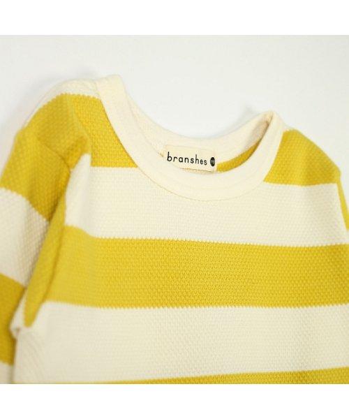branshes(ブランシェス)/ハチス編みボーダー長袖Tシャツ/118105361_img02