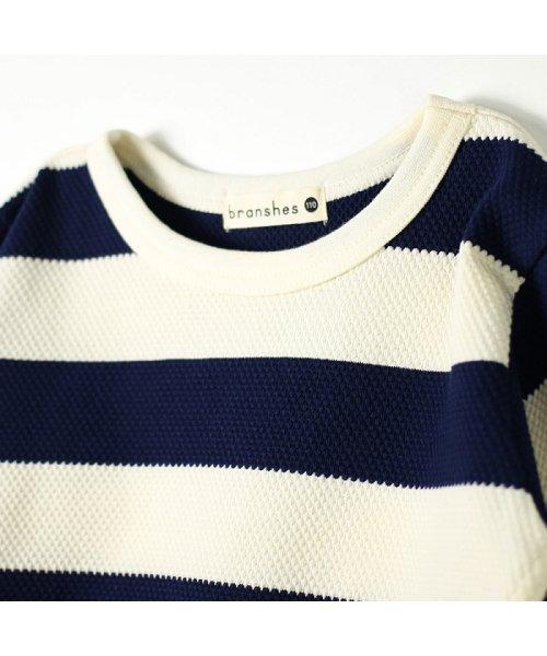 branshes(ブランシェス)/ハチス編みボーダー長袖Tシャツ/118105361_img05