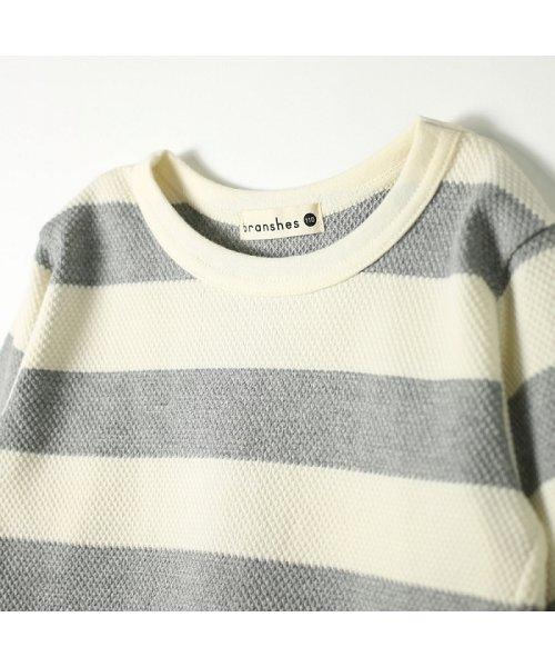 branshes(ブランシェス)/ハチス編みボーダー長袖Tシャツ/118105361_img12