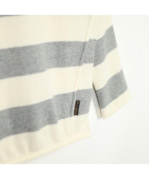 branshes(ブランシェス)/ハチス編みボーダー長袖Tシャツ/118105361_img14