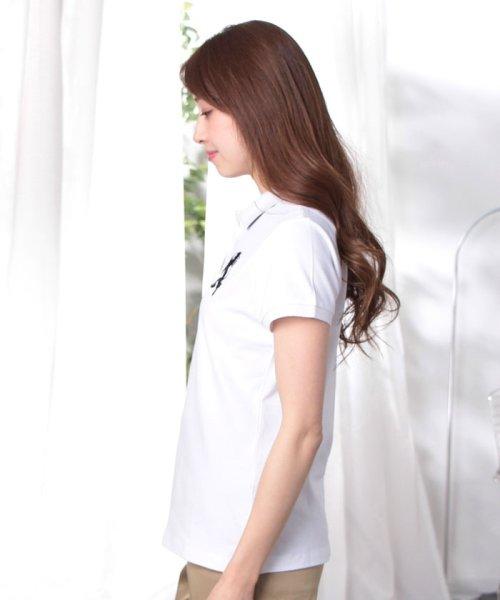 GIORDANOL(ジョルダーノ(レディース))/【ライクラ素材使用】3Dライオン刺繍ポロシャツ/GD18SS05318202_img44