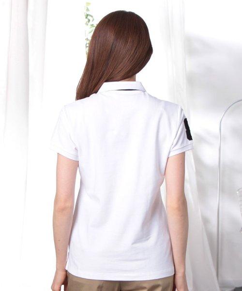 GIORDANOL(ジョルダーノ(レディース))/【ライクラ素材使用】3Dライオン刺繍ポロシャツ/GD18SS05318202_img45