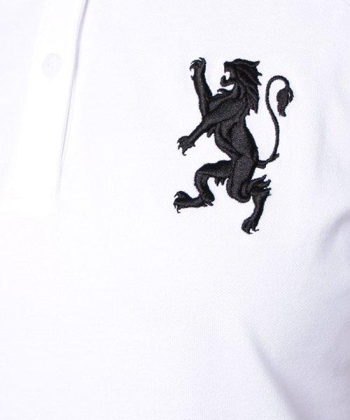 GIORDANOL(ジョルダーノ(レディース))/【ライクラ素材使用】3Dライオン刺繍ポロシャツ/GD18SS05318202_img48