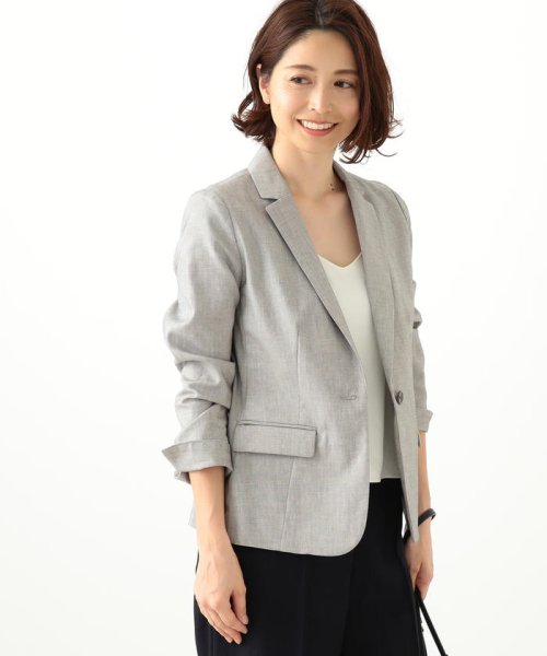 BEAMS OUTLET(ビームス アウトレット)/Demi−Luxe BEAMS / ピンヘッドテーラード ジャケット/68160044515_img05