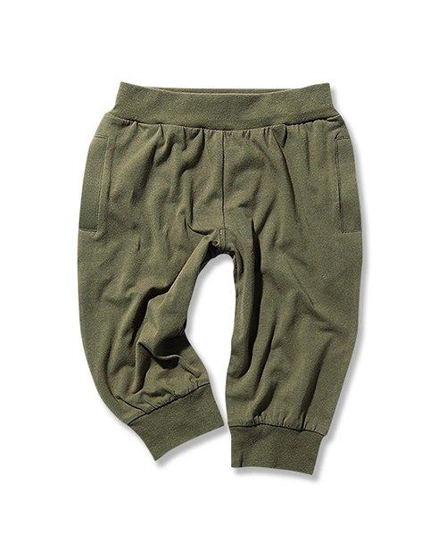 devirock(デビロック)/7分丈イージーライトパンツ 7分丈パンツ 裾リブパンツ/DT-077_img05