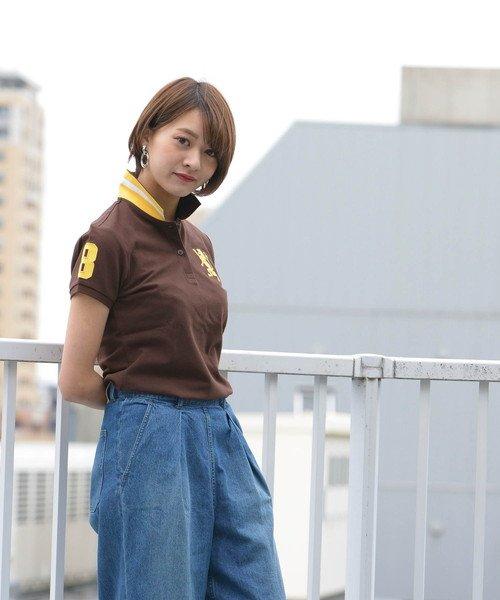 GIORDANOL(ジョルダーノ(レディース))/【ライクラ素材使用】3Dライオン刺繍ポロシャツ/GD18SS05318202_img26