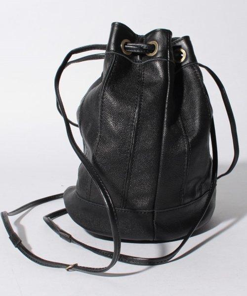 perche(ペルケ)/ペルケ perche / エアリーゴートパッチワーク巾着バッグ/080007640_img01