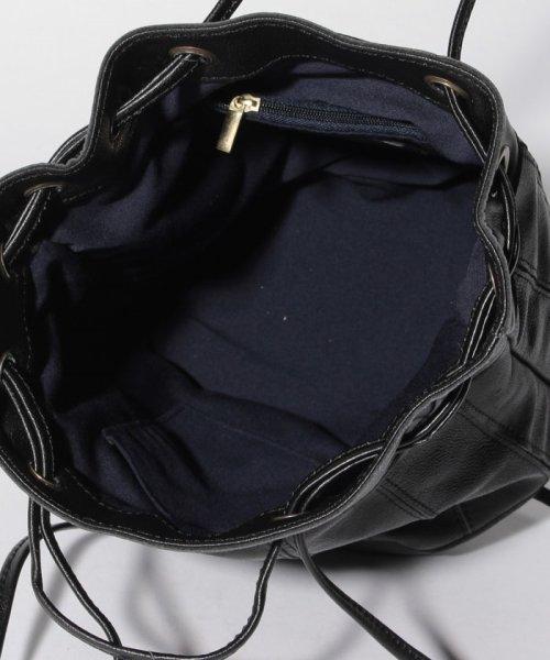 perche(ペルケ)/ペルケ perche / エアリーゴートパッチワーク巾着バッグ/080007640_img03