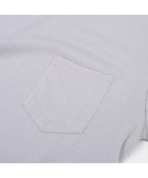 CavariA(キャバリア)/CavariA【キャバリア】ポケット付きクルーネックTシャツ/CARYU16-01_img02