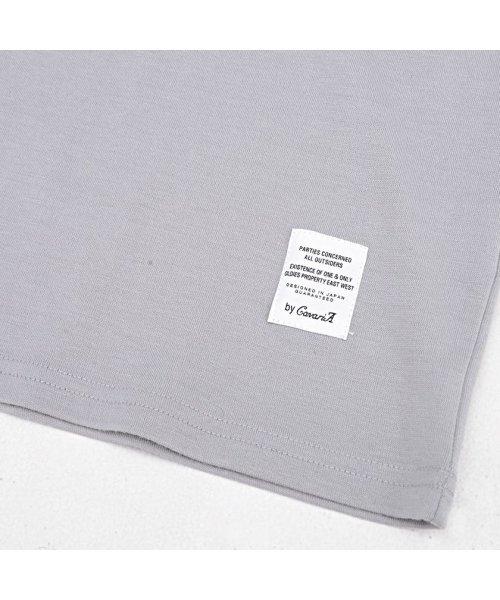 CavariA(キャバリア)/CavariA【キャバリア】ポケット付きクルーネックTシャツ/CARYU16-01_img03