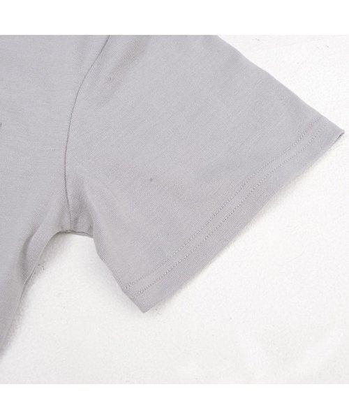 CavariA(キャバリア)/CavariA【キャバリア】ポケット付きクルーネックTシャツ/CARYU16-01_img04