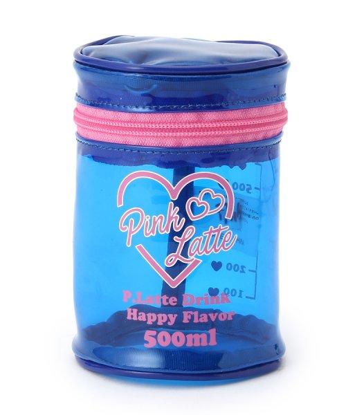 PINK-latte(ピンク ラテ)/筒型ビニールポーチ/99990932011218_img01