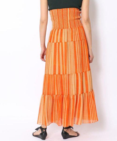 SOULEIADO(SOULEIADO)/クレーププリント ギャザーロングスカート/75058205401_img06