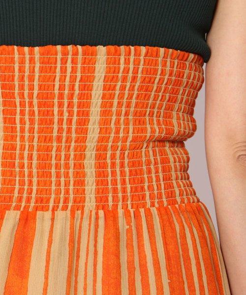 SOULEIADO(SOULEIADO)/クレーププリント ギャザーロングスカート/75058205401_img08