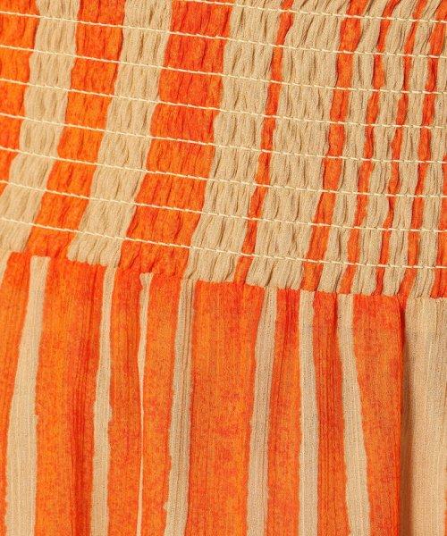 SOULEIADO(SOULEIADO)/クレーププリント ギャザーロングスカート/75058205401_img11