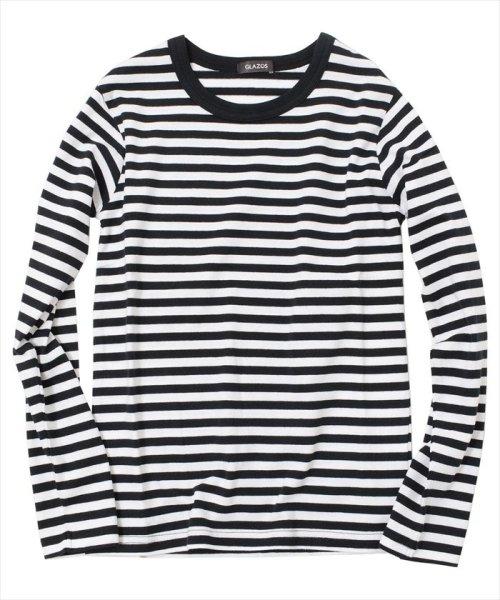 GLAZOS(グラソス)/ボーダー長袖Tシャツ/gl1002_img01
